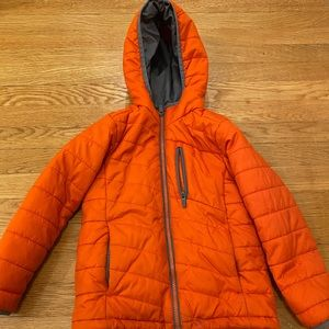 Lands end kids winter puffer coat- thinsulate.